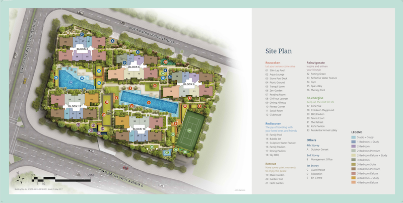 Le Quest Singapore - Le Quest Site Plan